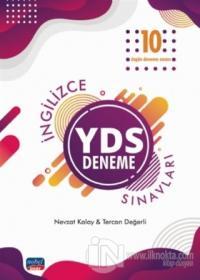 2019 İngilizce YDS 10 Özgün Deneme Sınavları %30 indirimli Nevzat Kala