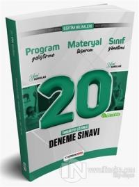 2021 KPSS Eğitim Bilimleri Program Geliştirme - Materyal Tasarım - Sınıf Yönetimi PDF Çözümlü 20 Deneme Sınavı