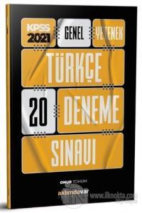 2021 KPSS Genel Yetenek Türkçe 20 Deneme Sınavı