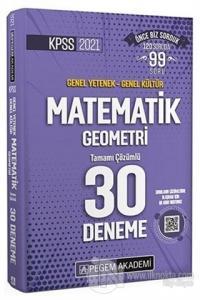 2021 KPSS Matematik Geometri 30 Deneme