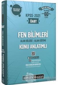 2021 KPSS ÖABT Fen Bilimleri Video Destekli Konu Anlatımlı Modüler Set (4 Kitap Takım)