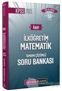 2021 KPSS ÖABT İlköğretim Matematik Tamamı Çözümlü Soru Bankası Kolekt