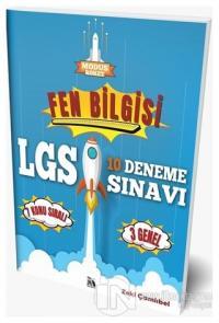 2021 LGS Fen Bilgisi 10 Deneme Sınavı Zeki Çamlıbel
