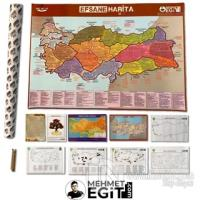 2021 Mehmet Eğit KPSS - AYT - TYT Efsane Harita (10 Ürünlük Set)