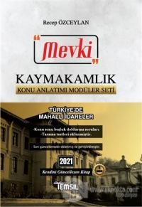2021 Mevki Kaymakamlık Konu Anlatımı Modüler Seti - Türkiye'de Mahalli İdareler