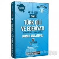 2021 ÖABT Türk Dili ve Edebiyatı Alan Bilgisi - Alan Eğitimi Konu Anlatımlı