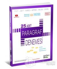 2021 TYT AYT MSÜ KPSS  ALES DGS 25 Adet Paragraf Denemesi
