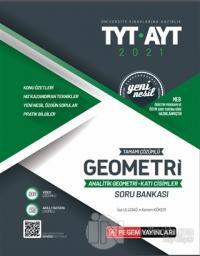 2021 TYT-AYT Tamamı Çözümlü Geometri Analitik Geometri - Katı Cisimler Soru Bankası