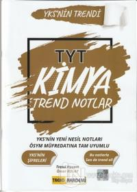 2021 TYT Kimya Trend Notlar