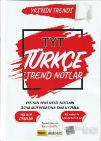 2021 TYT Türkçe Trend Notlar Ercan Ümitli