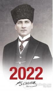2022 Atatürk Ajandası Kalpaklı - Çerçeveli