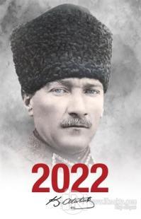 2022 Atatürk Ajandası Komutan - Beyaz