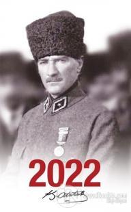 2022 Atatürk Ajandası Madalya - Beyaz