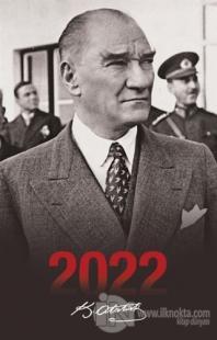 2022 Atatürk Ajandası Sivil - Siyah