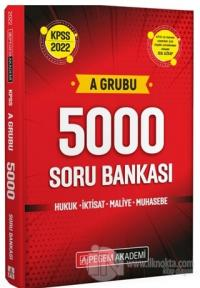 2022 KPSS A Grubu 5000 Soru Bankası Kolektif