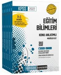 2022 KPSS Eğitim Bilimleri Konu Anlatımlı Modüler Set (6 Kitap Takım)
