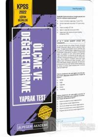 2022 KPSS Eğitim Bilimleri Ölçme ve Değerlendirme Yaprak Test