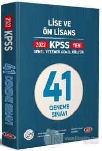 2022 KPSS Genel Yetenek Genel Kültür Lise ve Ön Lisans 41 Deneme Sınavı