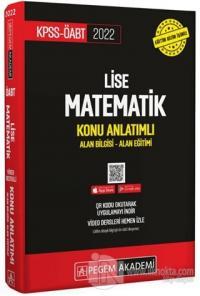 2022 KPSS-ÖABT Lise Matematik Konu Anlatımı Alan Bilgisi - Alan Eğitimi (İadesiz)