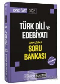 2022 KPSS ÖABT Türk Dili ve Edebiyatı Tamamı Çözümlü Soru Bankası Kole