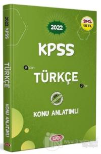 2022 KPSS Türkçe Konu Anlatımlı