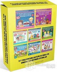 3-7 Yaş Çocuklar İçin IQ Zeka ve Dikkat Geliştiren Oyunlar (8 Kitap Takım)