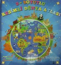 3 Boyutlu Resimli Dünya Atlası (Ciltli)