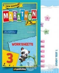 3.Sınıf New Marathon Plus Worksheets 2020