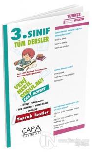 3.Sınıf Tüm Dersler Yaprak Test Kolektif