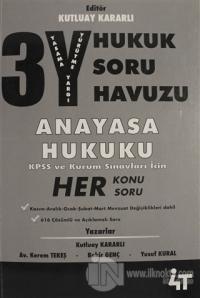 3Y Hukuk Soru Havuzu - Anayasa Hukuku
