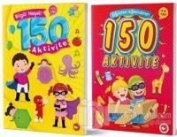 4-6 Yaş Bilgili Eğlendiren 150 Aktivite Seti (2 Kitap Takım)