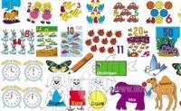 42 Parça Puzzle - Sayılar - Renkler - Şekiller