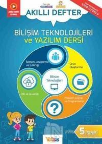 5. Sınıf Bilişim Teknolojileri ve Yazılım Dersi Akıllı Defter