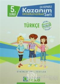 5. Sınıf  Çek Koparlı Kazanım Değerlendirme Seti Türkçe