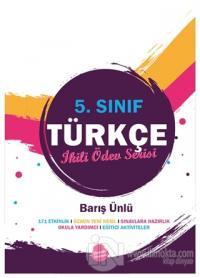 5.Sınıf Türkçe İkili Ödev Serisi Barış Ünlü