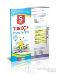 5. Sınıf Türkçe Konu Testleri Yaprak Test