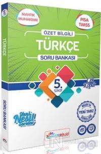 5.Sınıf Türkçe Özet Bilgili Soru Bankası