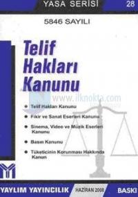 5846 Sayılı Telif Hakları Kanunu