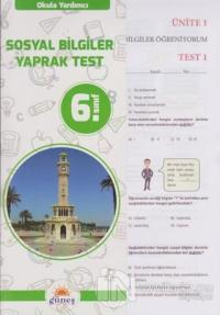 6.Sınıf Okula Yardımcı Sosyal Bilimler Yaprak Test