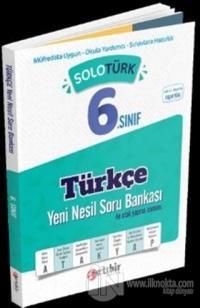 6.Sınıf Solotürk Türkçe Soru Bankası 2020