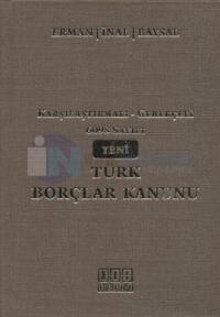 6098 Sayılı Yeni Türk Borçlar Kanunu