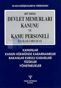 657 Sayılı Devlet Memurları Kanunu ve Kamu Personeli ile İlgili Mevzua