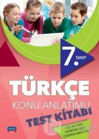7. Sınıf Türkçe Konu Anlatımlı Test Kitabı %30 indirimli Hülya Koz