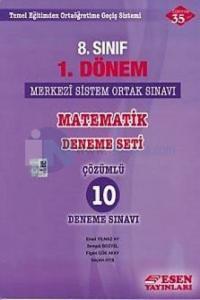 8. Sınıf 1. Dönem TEOG Matematik Çözümlü 10 Deneme Sınavı %10 indiriml