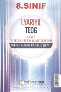 8. Sınıf 1. Yarıyıl TEOG 4 Adet T.C. İnkılap Tarihi ve Atatürkçülük Merkezi Yazılıya Hazırlık Sınavı
