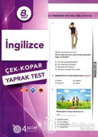 8. Sınıf İngilizce Çek-Kopar Yaprak Test