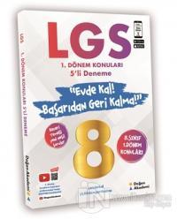 8. Sınıf LGS 1. Dönem Konuları 5'li Deneme