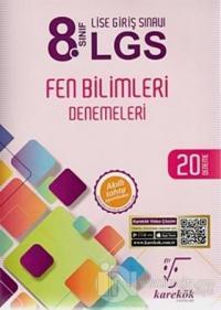 8. Sınıf LGS Fen Bilimleri Denemeleri 20 Deneme