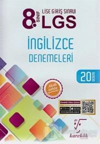 8. Sınıf LGS İngilizce Denemeleri 20 Deneme