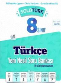 8.Sınıf LGS Solotürk Türkçe Soru Bankası 2020